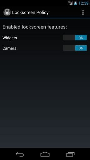 disable pattern lock android jelly bean how to disable widgets and camera access on the lockscreen