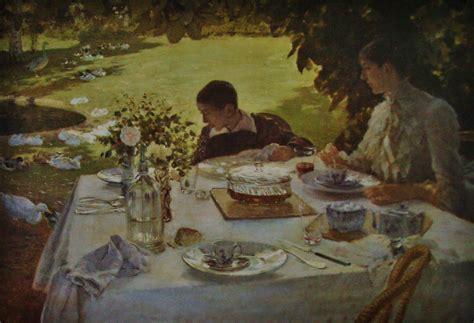 colazione in giardino de nittis il messaggero italiano de nittis colazione in giardino