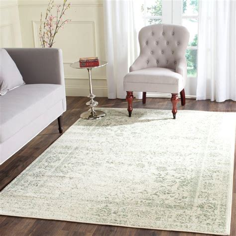 8 X 8 Area Rugs Safavieh Adirondack Ivory 8 Ft X 10 Ft Area Rug Adr109v 8 The Home Depot