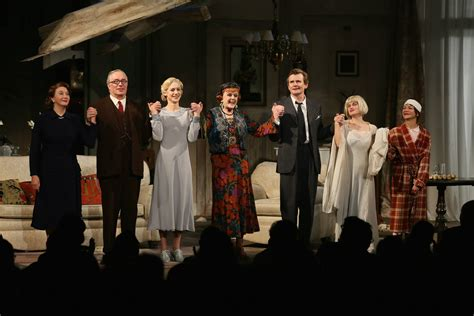 define curtain call theatre blithe spirit