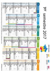 Calendrier 1er Semestre 2017 Avec Vacances Scolaires Calendriers 2017 224 Imprimer Lulu La Taupe Jeux Gratuits