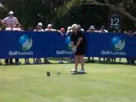 laura davies golf swing laura davies 2007 australian open lpga golf swing youtube