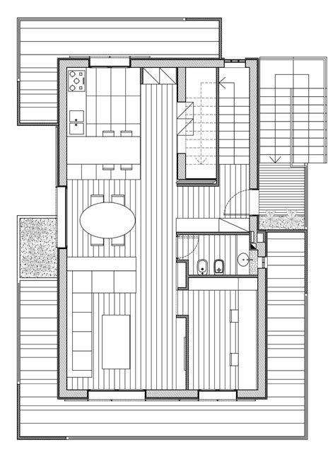 Interior Design House Plans Ground Floor Plan Rgr House In Rimini Italy By Archinow
