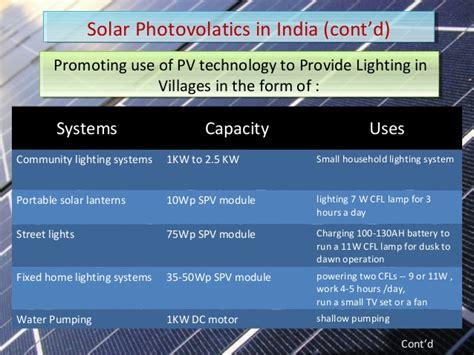 Solar Energy Ppt Solar Lighting System Ppt