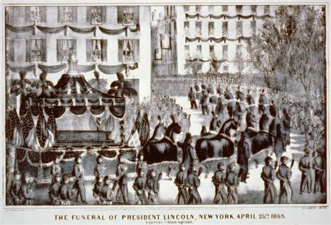 how many times was lincoln buried lincoln funeral in new york ephemeral new york
