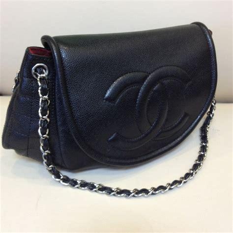 Conrad Sports A New Do A Chanel Caviar Bag by Chanel Chanel Black Caviar Xl Half Moon Flap Handbag