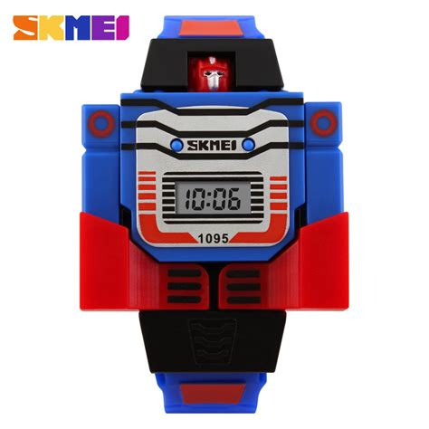 Best Seller Jam Robot Anak Jam Transformers Jam Anak Rumahcasio aliexpress buy skmei led fashion digital