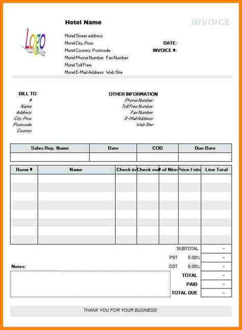 50 generic invoice template to ease the invoice ideas 5 free downloadable invoice template thistulsa