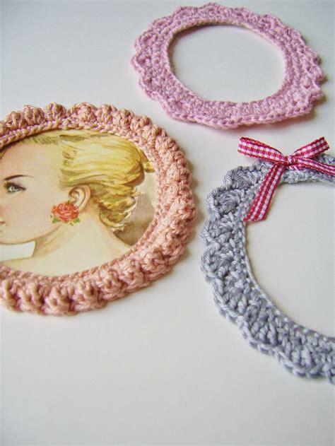 crochet frame pattern free free crochet patterns for photo frames by