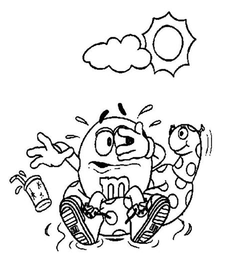 M M Coloring Pages Bestofcoloring Com Mm Coloring Pages