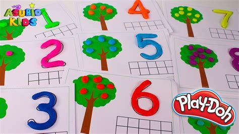 imagenes de niños jugando con numeros aprendemos los n 218 meros con play doh aprender jugando