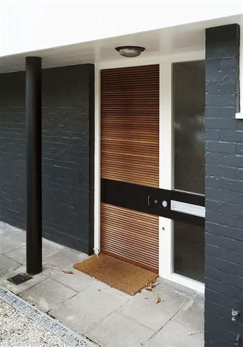 50 modern front door designs slatted modern front door design