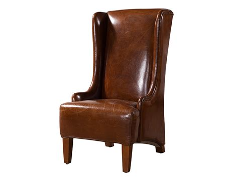 high back winged leather armchairs high back winged leather armchairs 28 images awesome