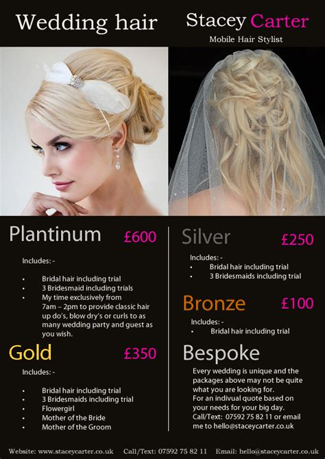 haircut price list hairstyle price list wedding hair wedding hair stylist prices hairstyles