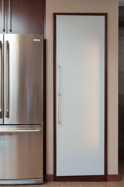 Modern Pantry Doors by Glass Pantry Door Modern Kitchen San Francisco By