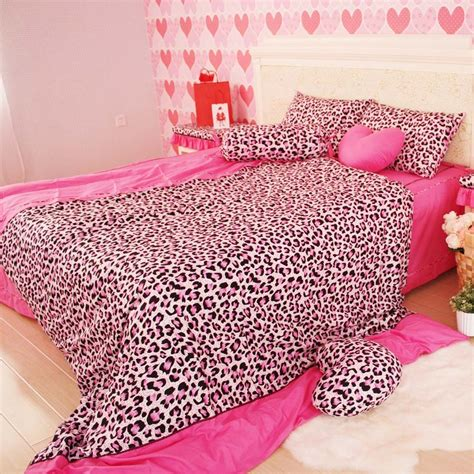 pink cheetah comforter set cheap bedding sets on sale at bargain price buy quality