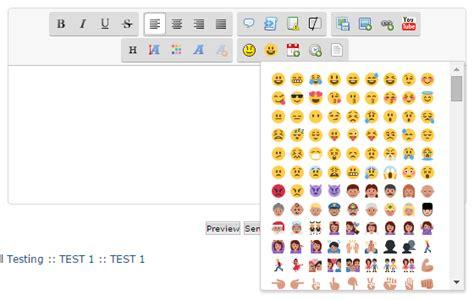 emoji editor add twitter emoji to the editor