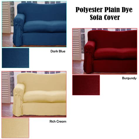 how to dye a couch cover plain dyed polyester 1 to 2 seater or 2 to 3 seater sofa