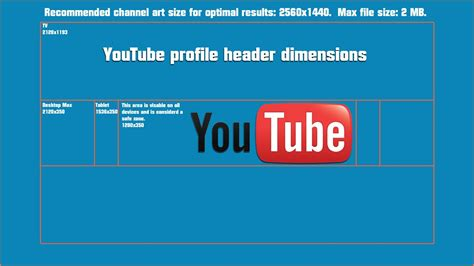 youtube header layout youtube channel header dimensions headers backgrounds