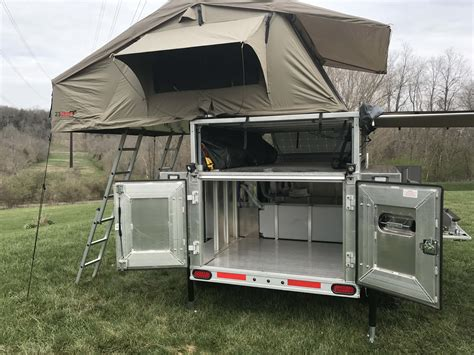 Off Road Vehicle Awnings Peanut Multi Sport Expedition Trailer Nuthouse Industries