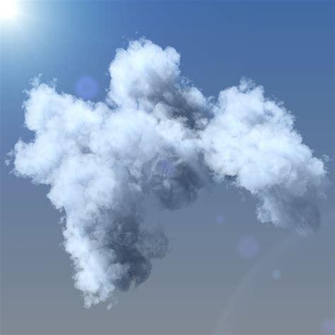 3d cloud clouds grid 3d max