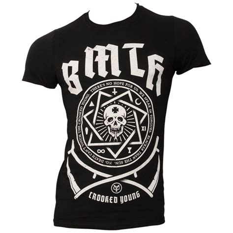 Tshirt Bring Me The Horizon 3 bring me the horizon t shirt crooked schwarz rocknshop