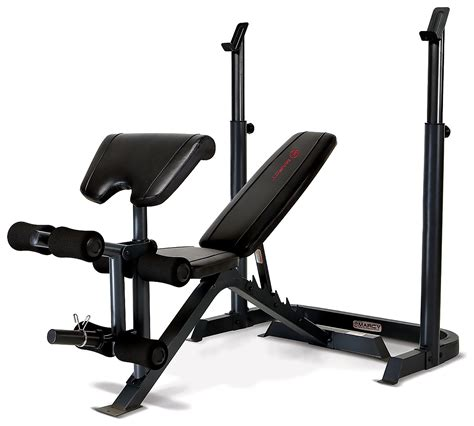 squat rack with bench marcy be3000 bench squat rack