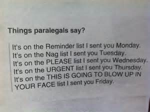 Little Paralegal Humor ? New Year?s Edition!   The Paralegal