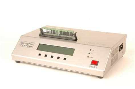 memory ram tester microtest system inc rs 1000 ddr ii 800 mhz memory tester