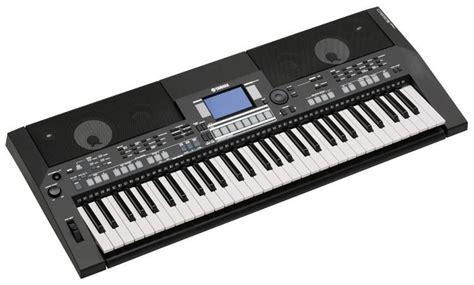 Keyboard Yamaha Psr S550 Bekas yamaha psr s550 b keyboard black