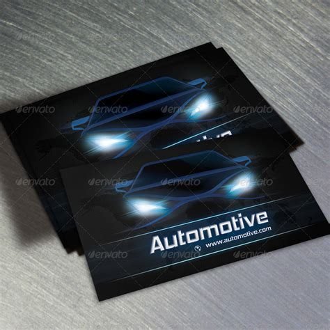 auto business card templates free automotive business card templates image collections
