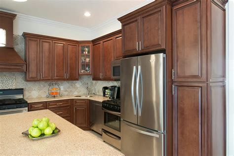 pre assembled kitchen cabinets signature chocolate pre assembled kitchen cabinets the