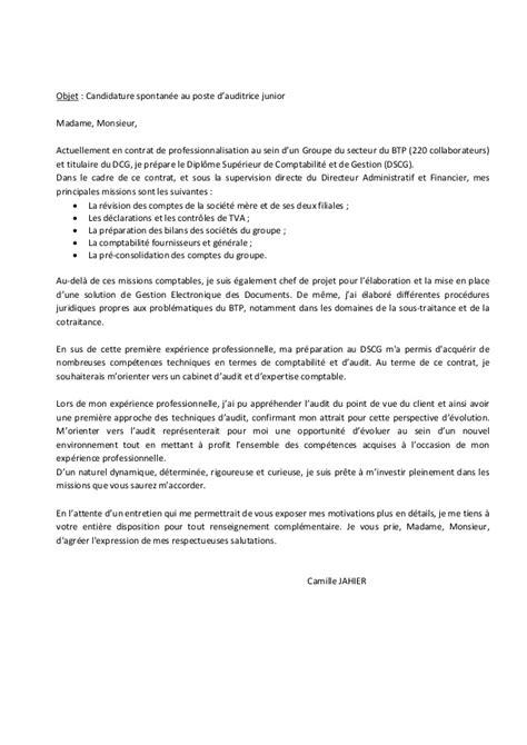 Lettre De Motivation Contrat De Professionnalisation Candidature Spontanee candidature spontan 233 e contrat de professionnalisation