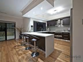 U Shape Kitchen Designs Modern U Shaped Kitchen Design Using Floorboards Kitchen