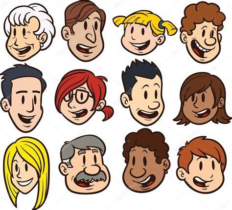 imagenes de caras asombradas caras de dibujos animados vector de stock 169 memoangeles