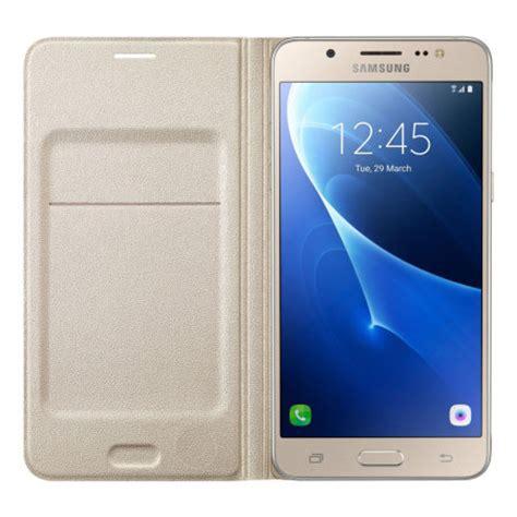 Flip Wallet S View Kulit Samsung J5 Prime official samsung galaxy j5 2016 flip wallet cover gold