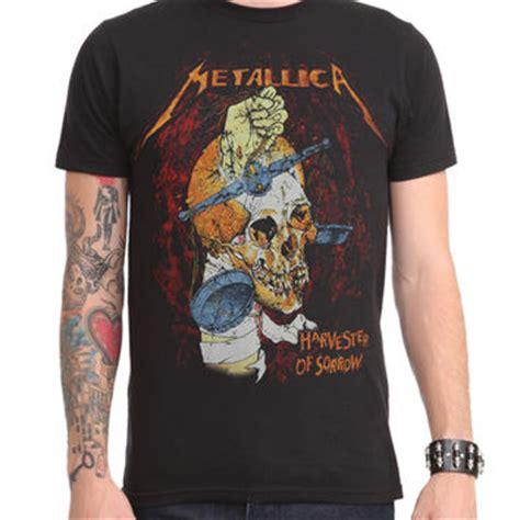 metallica harvester of sorrow metallica harvester of sorrow t shirt from hot topic