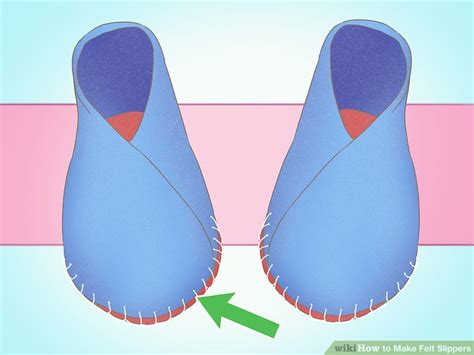 How To Make Handmade Slippers - 3 ways to make felt slippers wikihow
