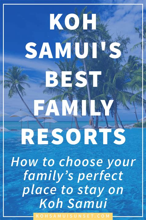 best resort samui where to stay on koh samui with the best koh samui