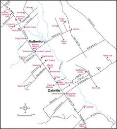 rutherford california map pin map of rutherford new jersey nj on