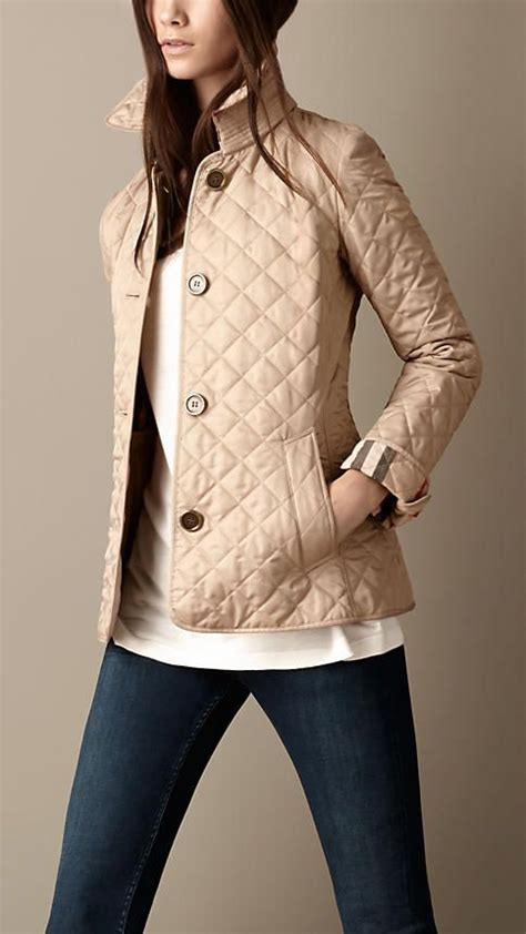 25 best ideas about burberry quilted jacket on