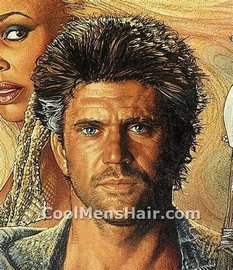 Mad Hairstyle by Mel Gibson Hair Styles Evolution Throughout His Career