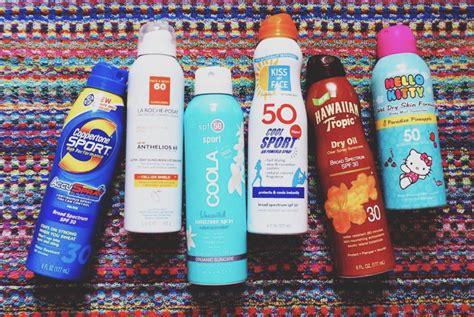 banana boat sunscreen vs coppertone best worst sunscreens to use organic bunny