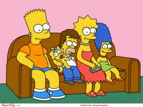 american top the simpsons characters