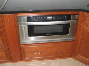 sharp drawer microwave chef in