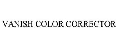 vanish color corrector vanish color corrector trademark of vanish color corrector