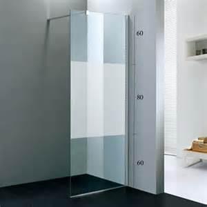paroi de fixe tana pour la salle de bains verre 8