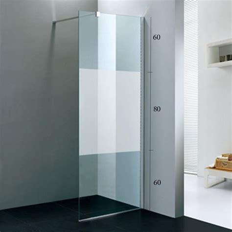 paroi de en verre fixe paroi de fixe tana pour la salle de bains verre 8 mm s 233 rigraphi 233