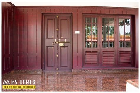 home door design kerala traditional front door designs kerala