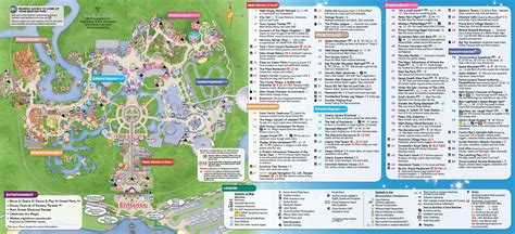 may 2016 walt disney world park maps for map